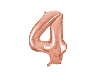 Balão Metalizados Rose Gold 40cm - Nº4