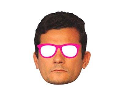 Óculos Máscara Meme - Sérgio Moro