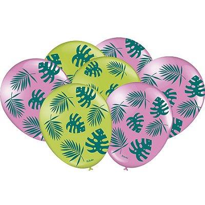Balão de Látex - Tucano Tropical