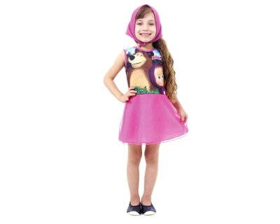Fantasia Infantil - Masha Faces - P