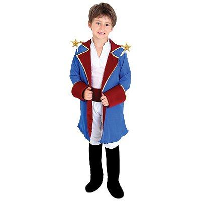 Fantasia Infantil Pequeno Príncipe Luxo - M
