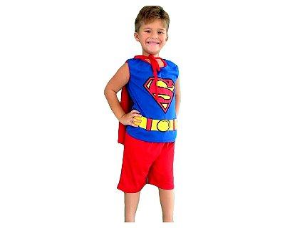 Fantasia Infantil - Super Homem - GG