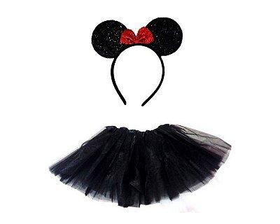 Fantasia Carnaval Feminina - Minnie