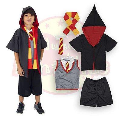 Fantasia Infantil Harry Potter - 8 anos