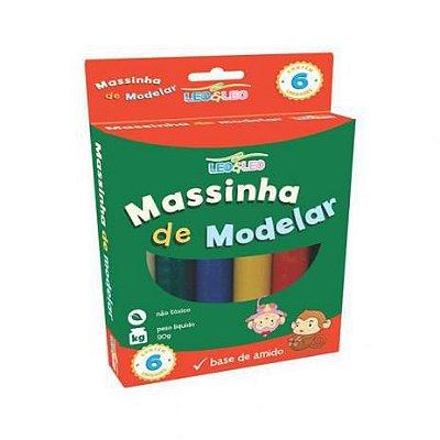 30 Massinhas de modelar e brincar com 6 cores