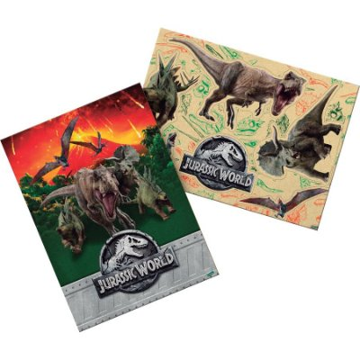 Kit Decorativo Cartonado Jurassic Word