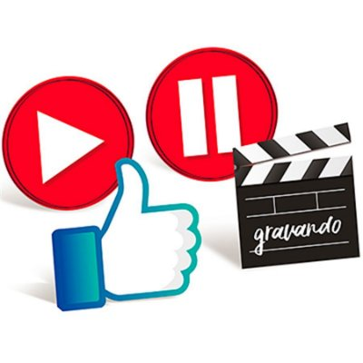 Enfeite de Mesa - Youtuber - Influencer - 04 und