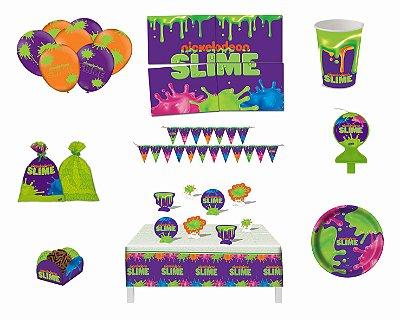 Kit Festa 8 Pessoas - Slime