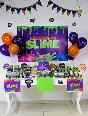 Kit Festa 24 Pessoas - Slime