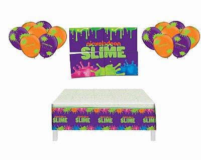 Kit Decoração - Slime