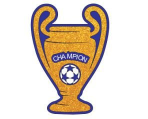 Painel Decorativo EVA - Taça Champion