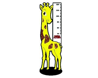 Painel Decorativo EVA - Girafa
