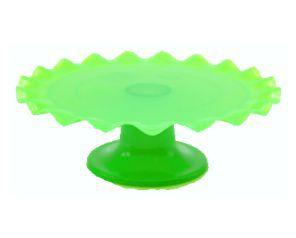 Boleira - verde Flúor Ondulada - 26cm