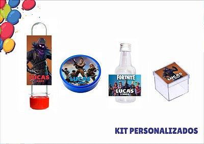 kit personalizado - fortnite - 40 itens