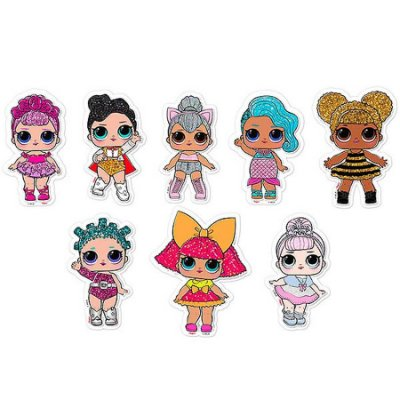 Mini Personagens decorativo Boneca Lol Surprise 134 unidades