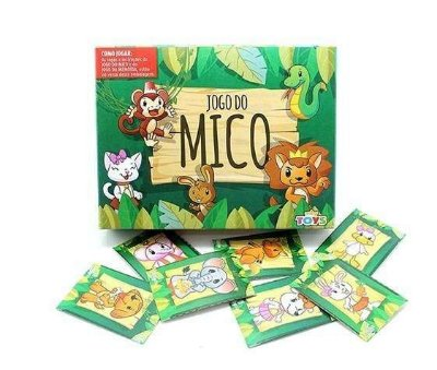 Jogo do Mico infantil Mini Toy Unidade