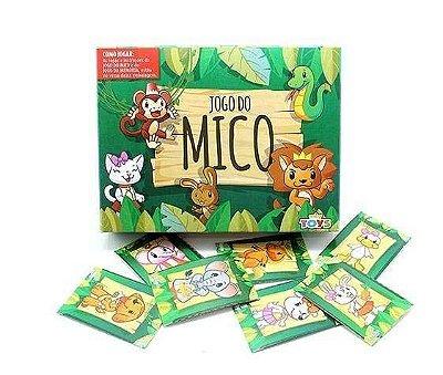 Kit com 10 Jogos do Mico infantil Mini Toy