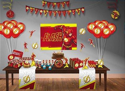Kit Decoração de festa do Flash