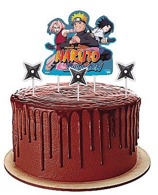 Topo de Bolo - Naruto