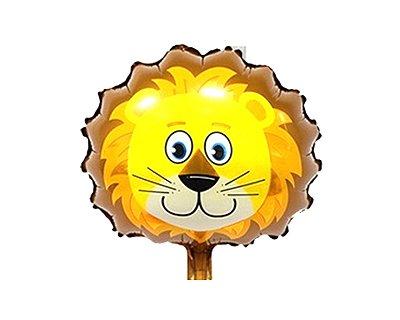 Balão Metalizado -  Leão Safari - 45cm
