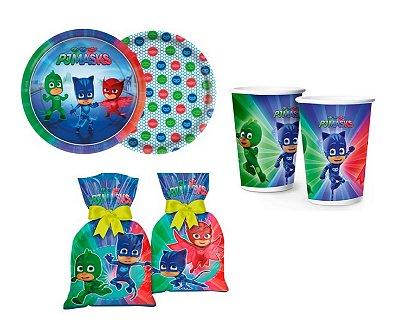Kit Decoração De Festa - Pj Masks