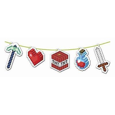 Faixa Decorativa - Festa Mini Pixel