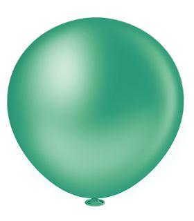 Balão Látex Fat Ball 250 - Big Balão - Verde Escuro