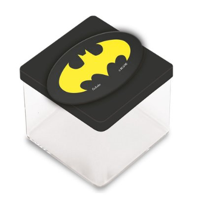Aplique 3 D Batman Geek - 12 unidades