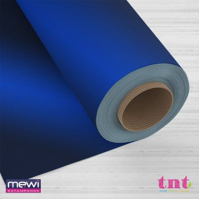 TNT Metalizado Laminado - Azul - 05 Metros