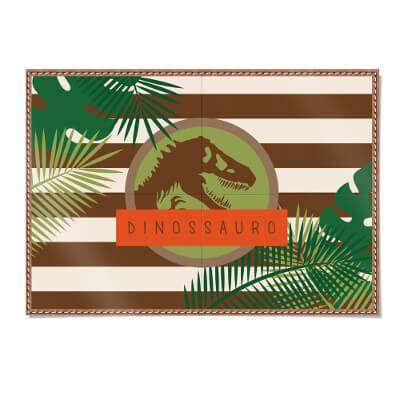 Painel 4 Laminas Papel - Mundo dos Dinossauro