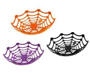 Cesta Decorativa Halloween - 3 Unidades