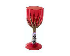 Taça de vinho Vermelho - Halloween
