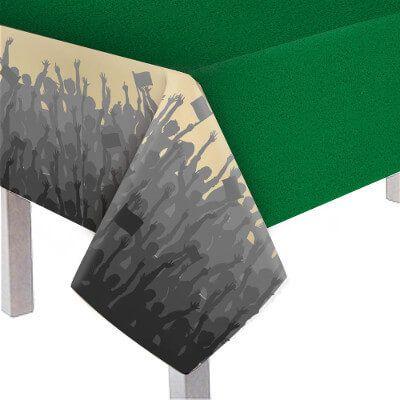 Toalha de Mesa Plástica Principal - Futebol - 1,18 x 1,80