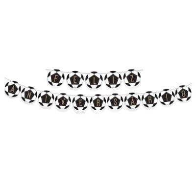 Faixa de Aniversário - Festa Futebol