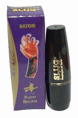Maquiagem Batom Roxo Bruxa - Slug - Halloween