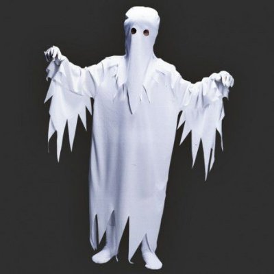 Fantasia Infantil - Fantasma  M - 6 a 8 anos