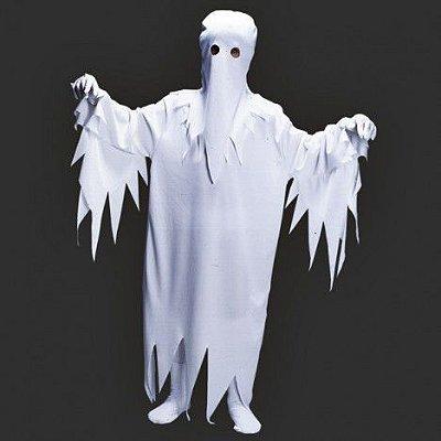 Fantasia Infantil - Fantasma  G - 10 a 12 anos
