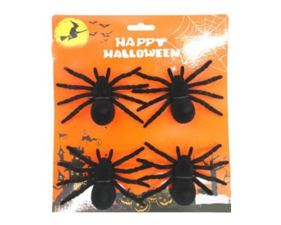 Kit 4 Aranha Pequena - Halloween