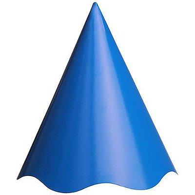 Chapéu de Aniversário Azul - Live Colors  16 unidades