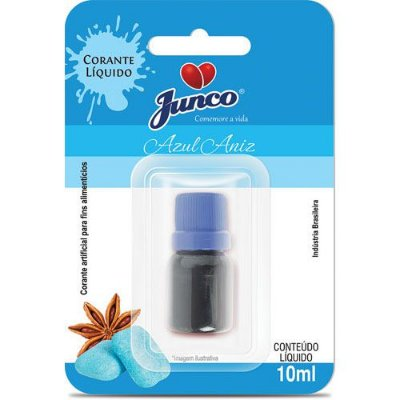Corante Alimentício Líquido - Azul - 10ml
