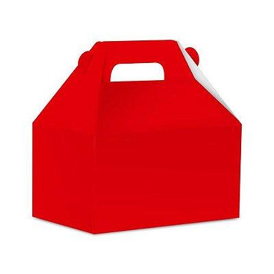 Caixa Surpresa Maleta  - Live Colors - Vermelho - 08 unidades