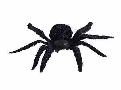 Aranha Caranguejeira de brinquedo com linha- Halloween