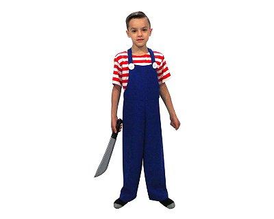 Fantasia Infantil - Chucky - Halloween - 12 anos