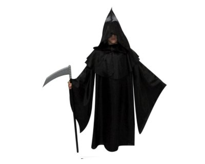 Capa Pânico - Infantil - Halloween - Tamanho 4