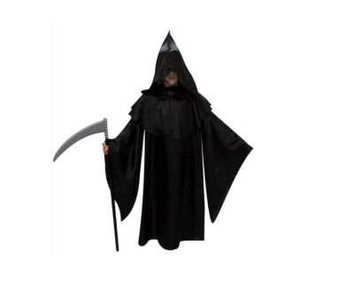 Capa Pânico - Infantil - Halloween - Tamanho 8