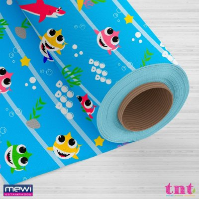 Tnt Estampado - Five Shark - 2 metros