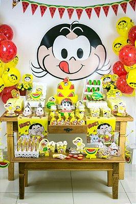 Kit Decoração Festa Completa P/ 16 Crianças - Magali
