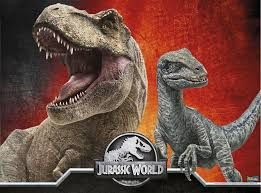 Painel Grande TNT - Jurassic World