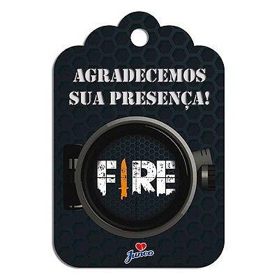 Tag de Agradecimento - Free Fire - 18 Unidades