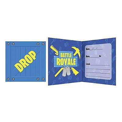 Convite -  Battle Royale - 16 Unidades